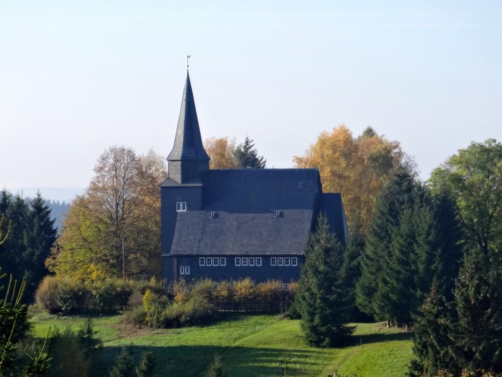 Heidersbacher Schieferkirche